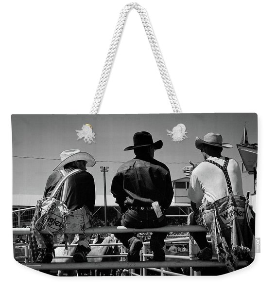 Corral Talk Weekender Tote Bag