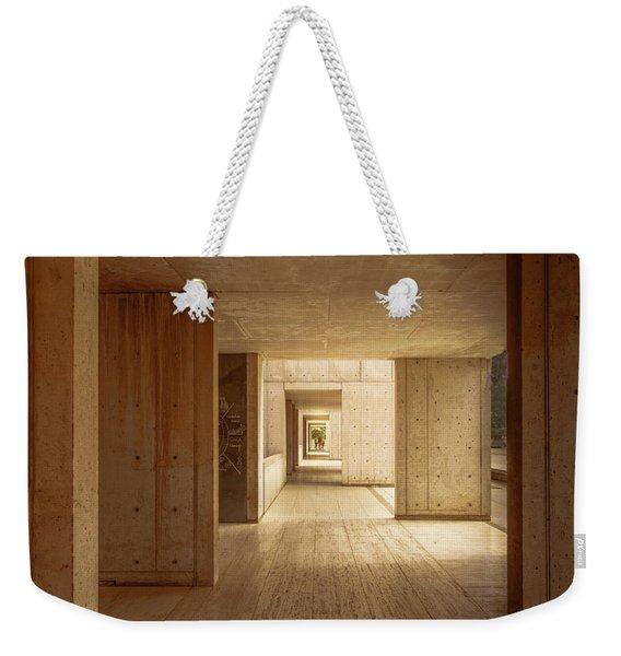 Corridor Weekender Tote Bag