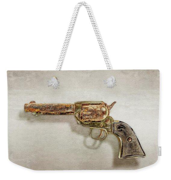 Corroded Peacemaker Weekender Tote Bag