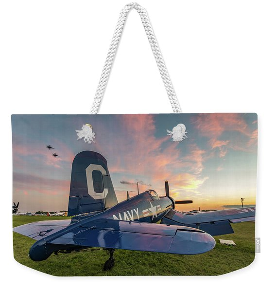 Corsair Sunset Weekender Tote Bag