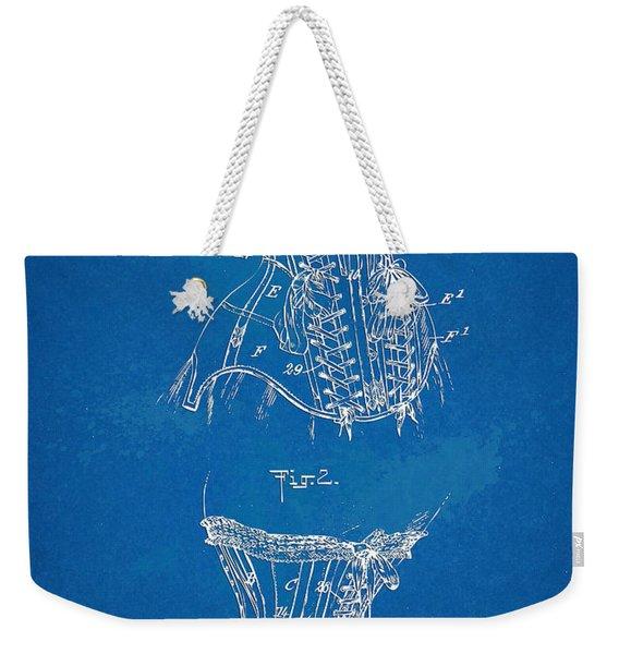 Corset Patent Series 1908 Weekender Tote Bag