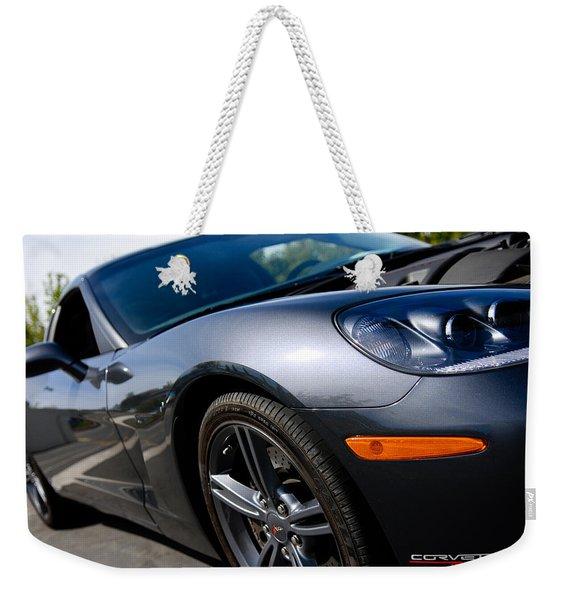 Corvette Racing Weekender Tote Bag