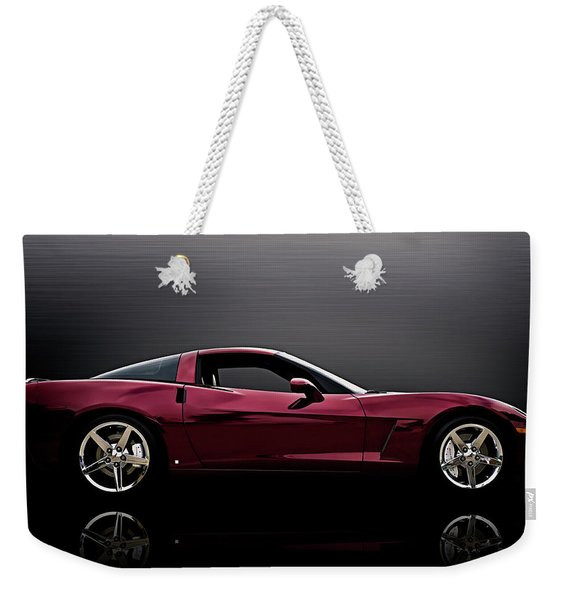 Corvette Reflections Weekender Tote Bag