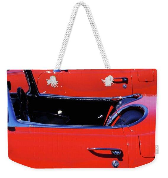 Corvette Row Weekender Tote Bag