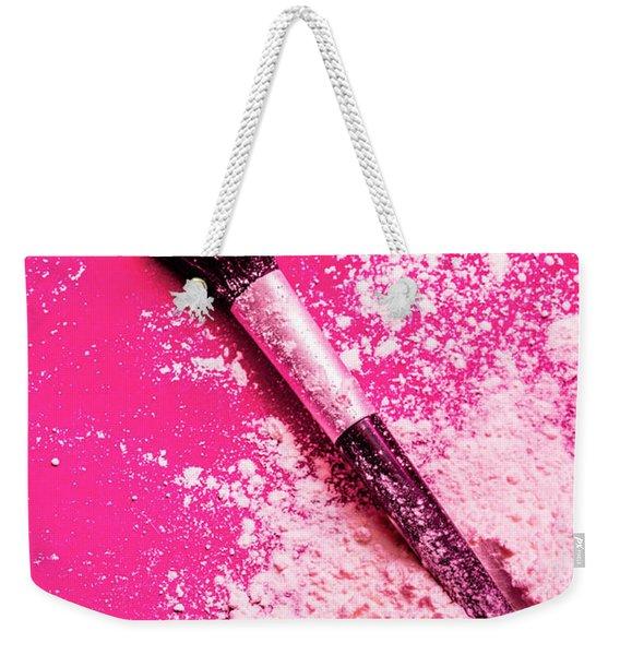 Cosmetics Powder Fine Art Still Life Weekender Tote Bag