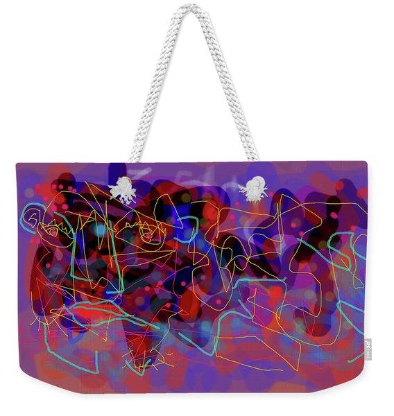 Cosmic Beast Weekender Tote Bag