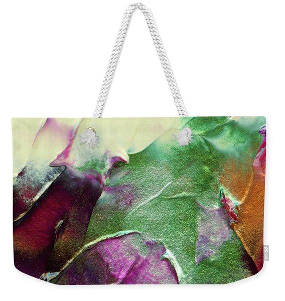 Cosmic Pearl Dust Weekender Tote Bag