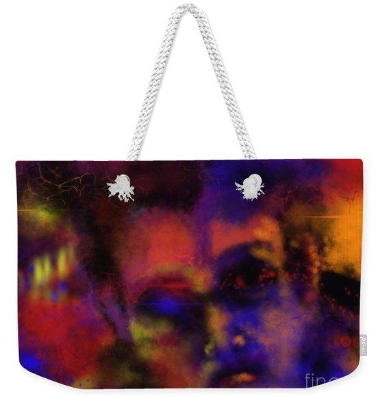 Cosmic Punk Weekender Tote Bag