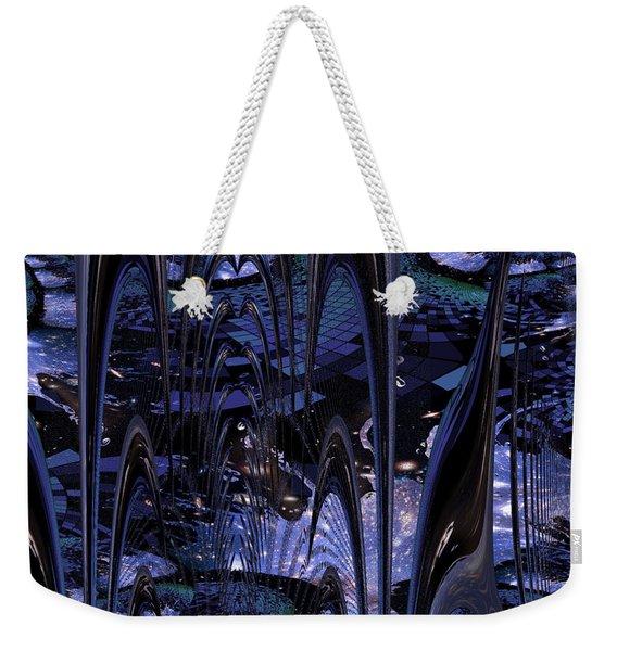 Cosmic Resonance No 8 Weekender Tote Bag