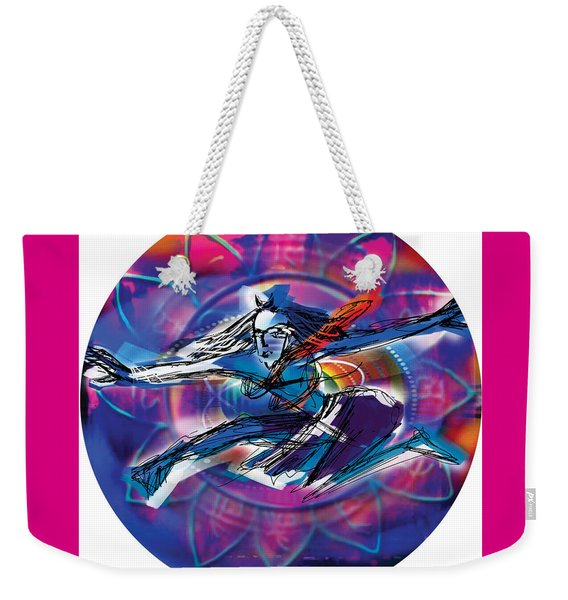 Cosmic Shiva Speed Weekender Tote Bag