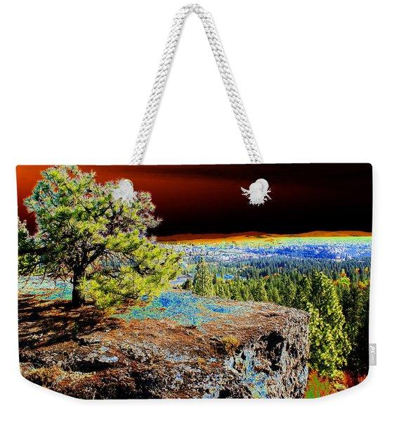 Cosmic Spokane Rimrock Weekender Tote Bag