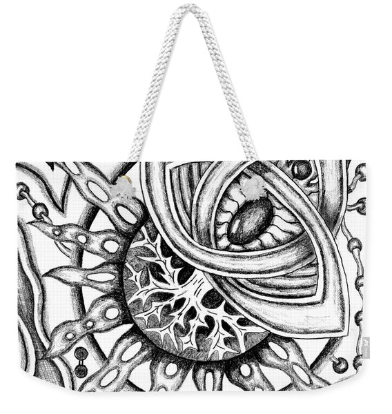 Cosmic Thing Weekender Tote Bag