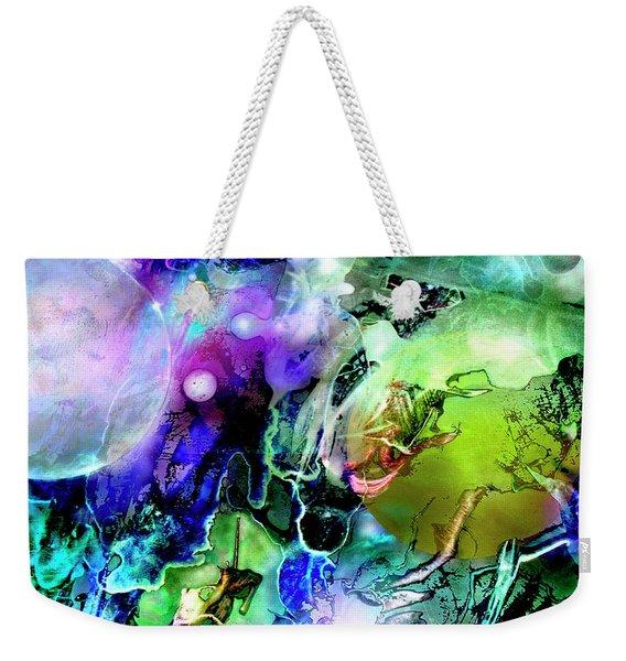 Cosmic Web Weekender Tote Bag