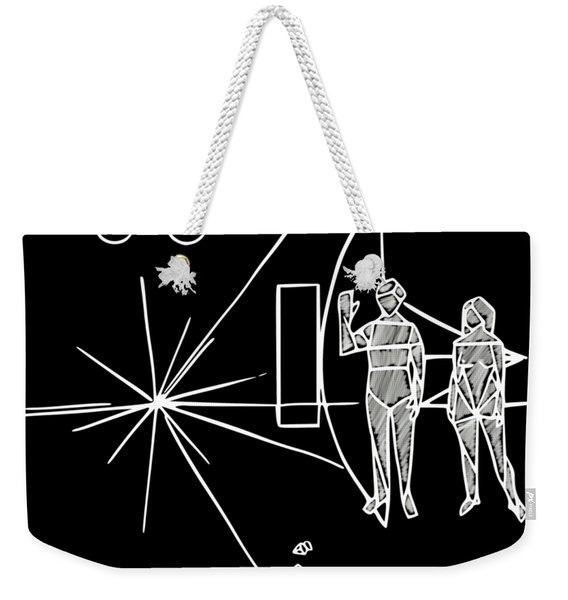 Cosmos Greetings  Weekender Tote Bag