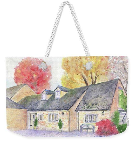 Cotswolds Cottage Weekender Tote Bag
