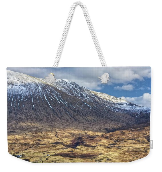 Cottage At The Base Of The Mountain Weekender Tote Bag