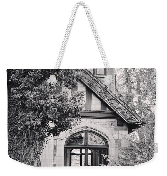 Cottage Entrance Weekender Tote Bag