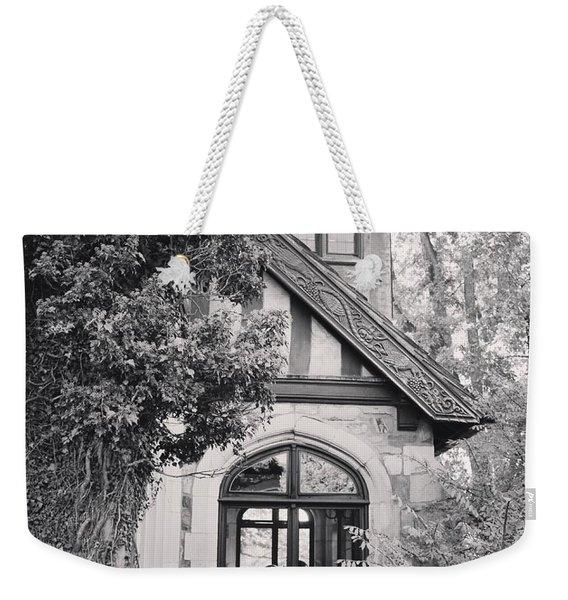 Cottage Entrance Weekender Tote Bag