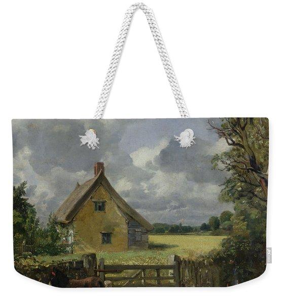 Cottage In A Cornfield Weekender Tote Bag