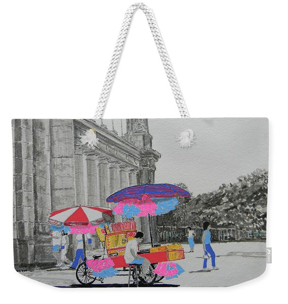 Cotton Candy At The Cne Weekender Tote Bag