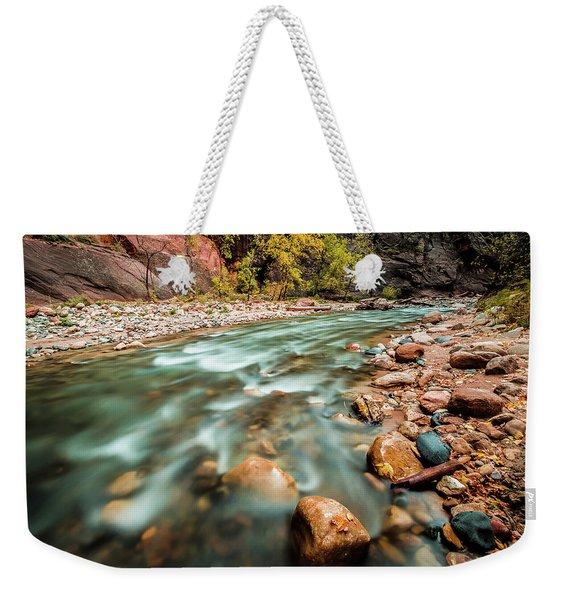 Cotton Colors Weekender Tote Bag