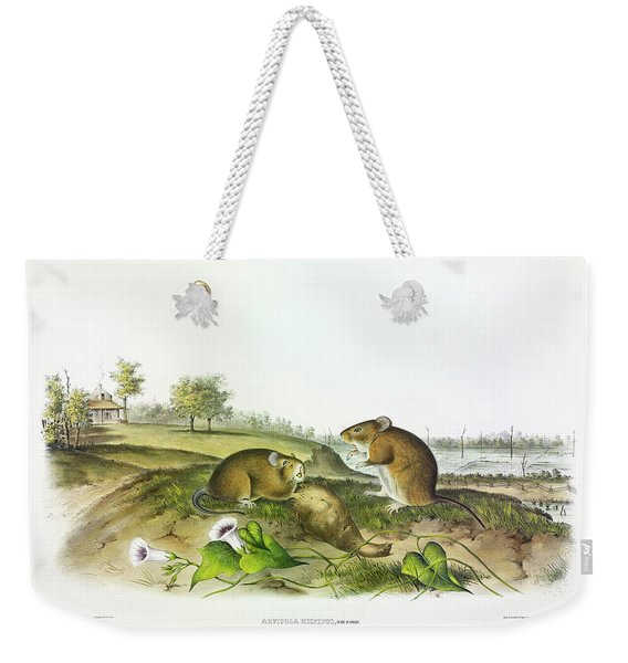 Cotton Rat Weekender Tote Bag