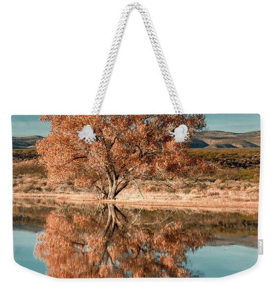 Cotton Wood Tree  Weekender Tote Bag