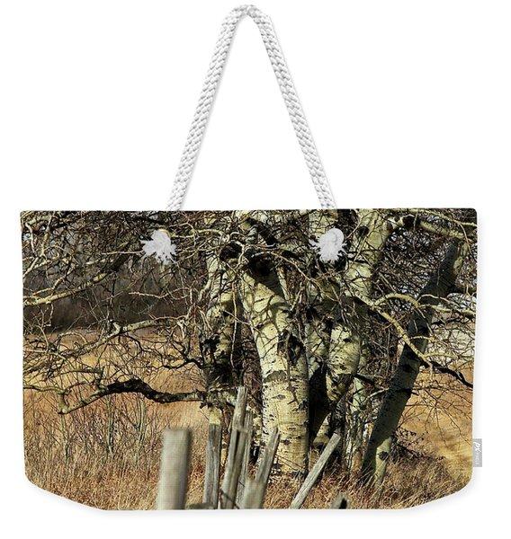 Cottonwood Stand Weekender Tote Bag