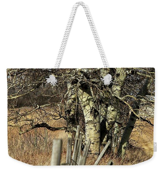 Cottonwood Stand Weekender Tote Bag