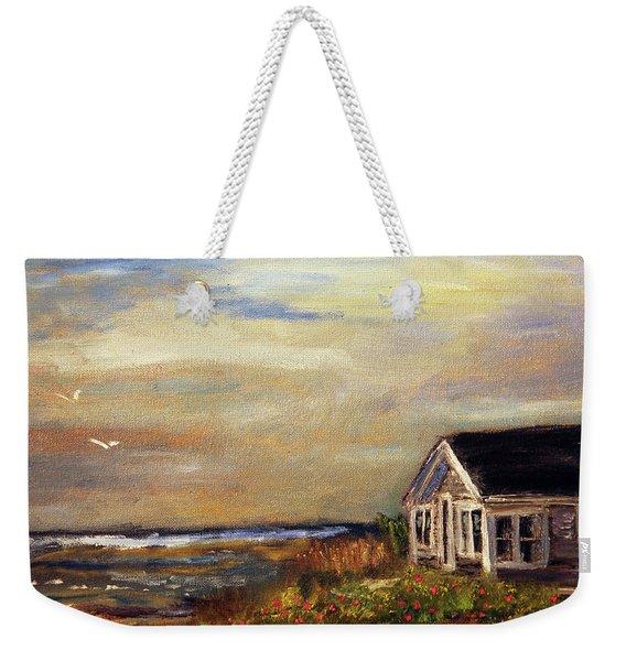 Cotuit Beach Cottage Weekender Tote Bag