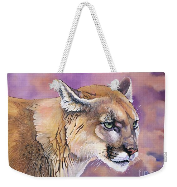 Cougar, Catamount, Mountain Lion, Puma Weekender Tote Bag