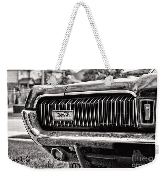 Cougar End Weekender Tote Bag