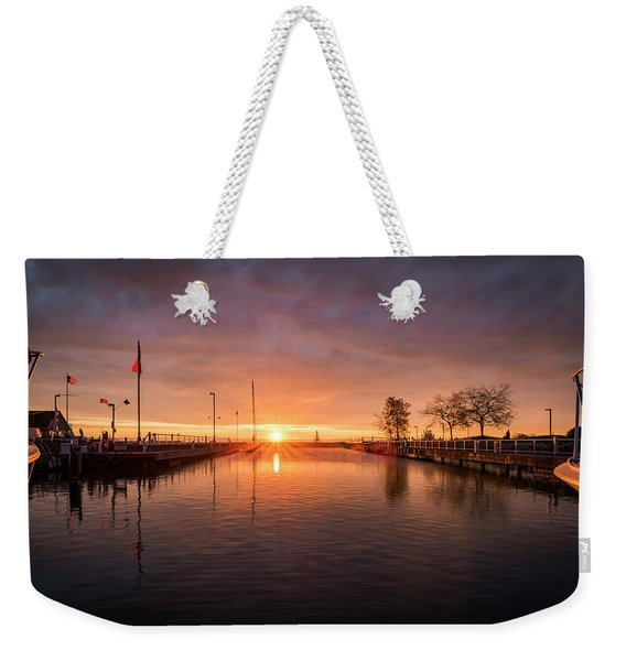 Could Be Paradise Weekender Tote Bag