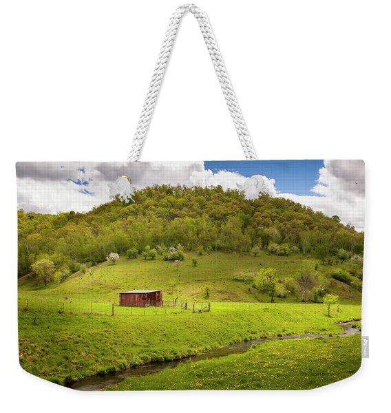 Coulee Morning Weekender Tote Bag