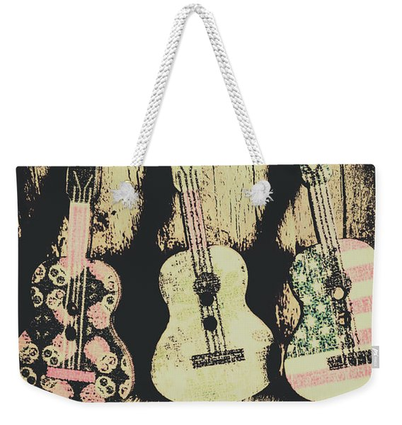 Country And Western Saloon Songs Weekender Tote Bag