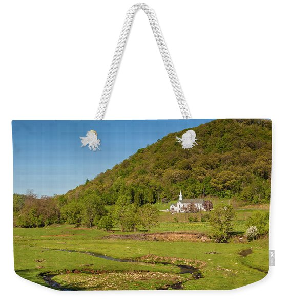 Country Church  Weekender Tote Bag