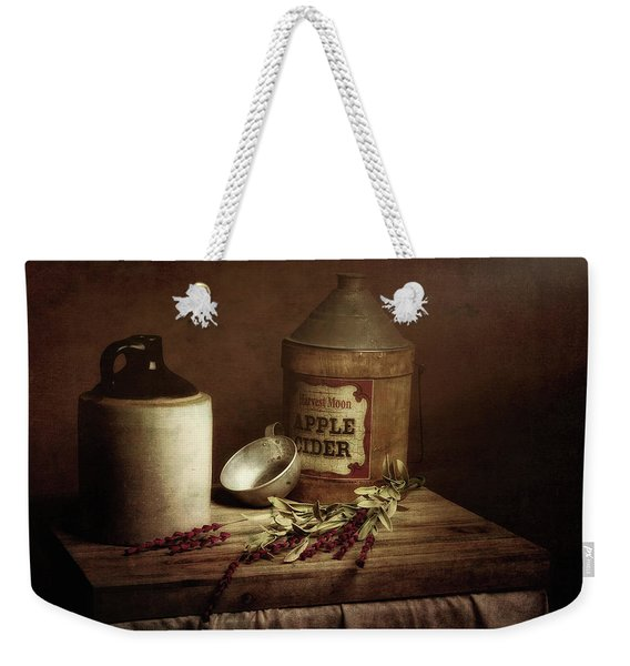 Country Cider Weekender Tote Bag