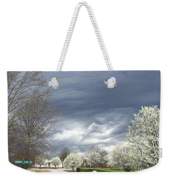 Country Club Circle Weekender Tote Bag