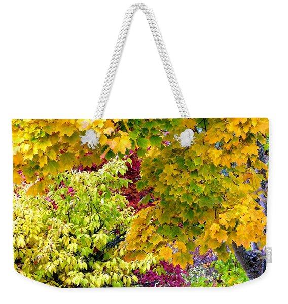 Country Color 15 Weekender Tote Bag
