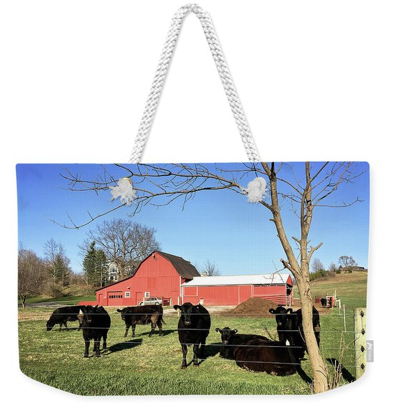Country Cows Weekender Tote Bag