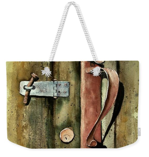 Country Door Lock Weekender Tote Bag