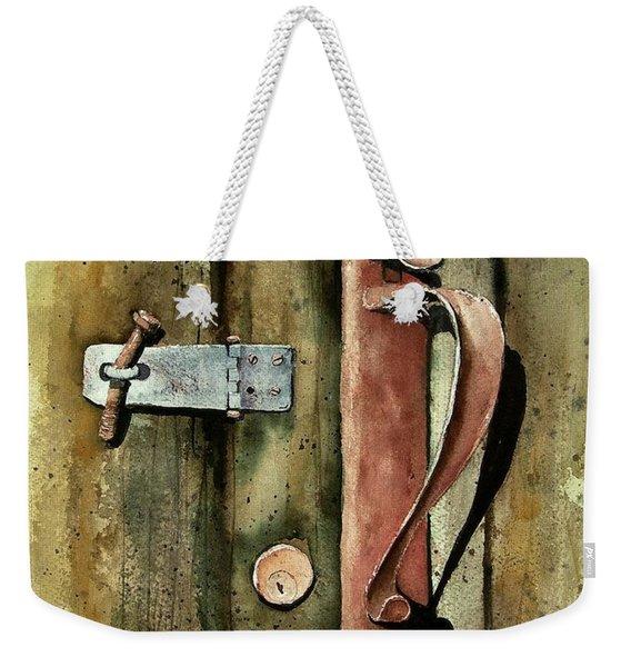 Country Door Lock Weekender Tote Bag