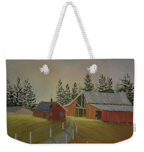 Country Farm Weekender Tote Bag