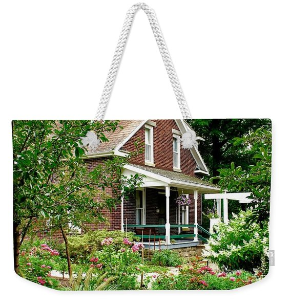 Country Home Weekender Tote Bag