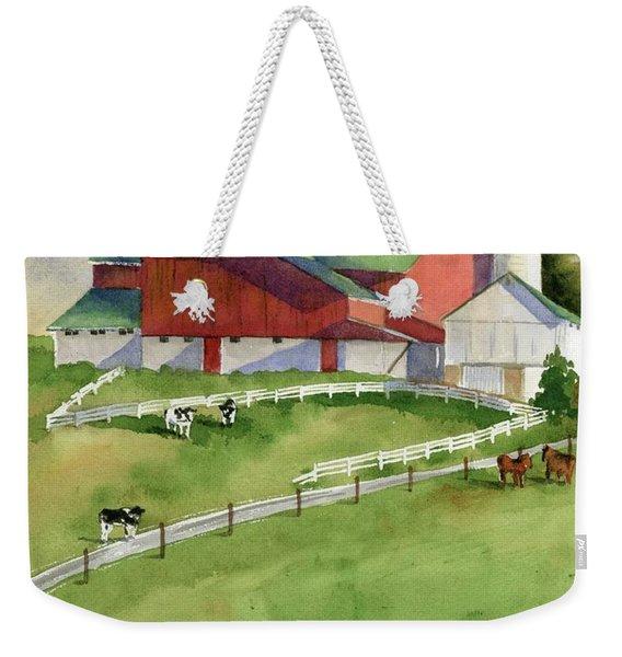 Country Weekender Tote Bag