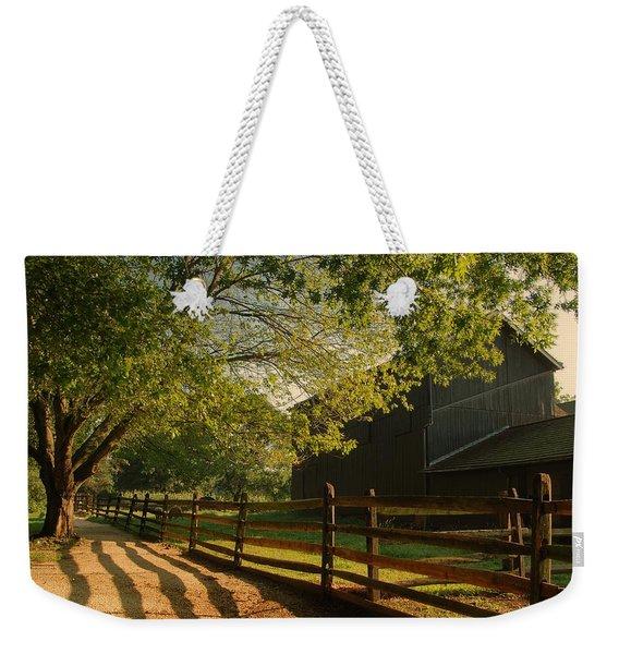 Country Morning - Holmdel Park Weekender Tote Bag