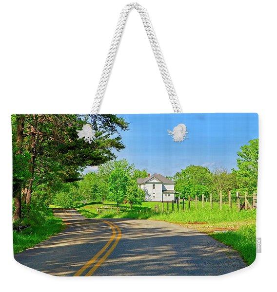 Country Roads Of America, Smith Mountain Lake, Va. Weekender Tote Bag