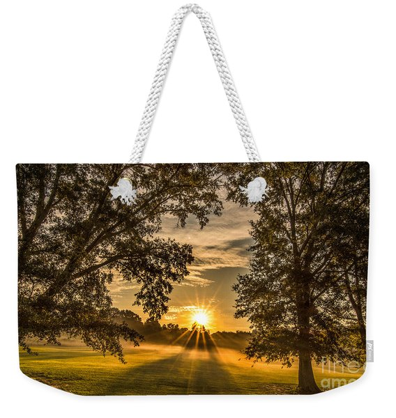 Country Time Rise Weekender Tote Bag