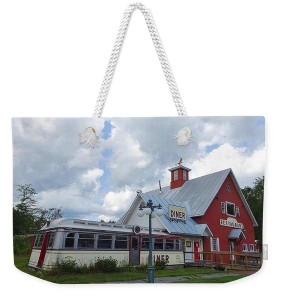 Countryside Diner Weekender Tote Bag
