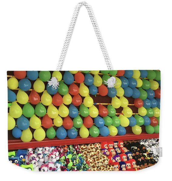 County Fair Prizes Weekender Tote Bag